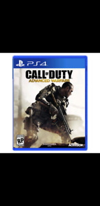 Looking to trade my COD Advanced Warfare PS4 game for you GTA 5