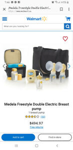 Medella breast pump freestyle