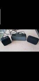 3x portable mini Bluetooth speaker