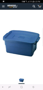 LTB: rubbermaid storage containers