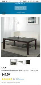 IKEA COFFEE TABLE LACK JUST BOUGHT