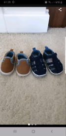 Baby boy shoes & sandals £4