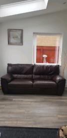 Leather Fenwick sofa