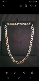 9ct heavy gold chain