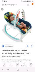 Fisher price baby to toddler rocker seat