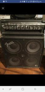 ampli de bass fender bassman 400