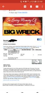 Big Wreck VIP