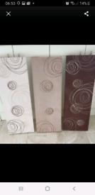 Trio of suede box pictures