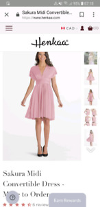 Blush Pink Henkaa Dress + accesories