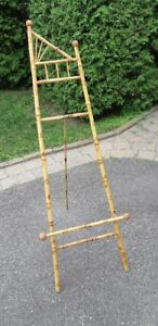 Antique picture stand