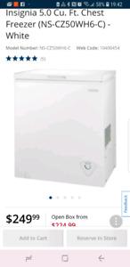 Insignia freezer brand new condition