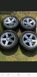 """20"""" dodge ram rims and tires"""