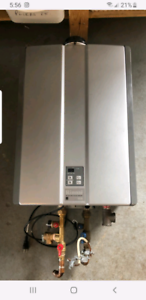 Tankless / hot water on demand