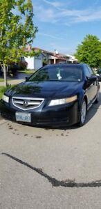 black 2005 Acura TL  3.2