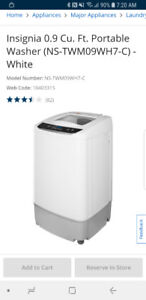 Portable washing machine - great for apartments