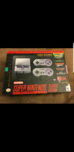 Super Nintendo Classic (Brand New with Receipt)