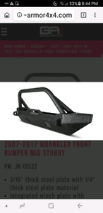 NEW! 07-18 JEEP FR&BK BUMPERS