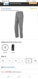 Chef trouser