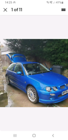 MG ZR 1.4, 04 plate low milage. Open to offers!