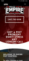 Half Price Pest Control Sale! This Week Only! Call now! Wow! ; )