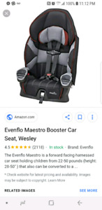Evenflo car seat/booster