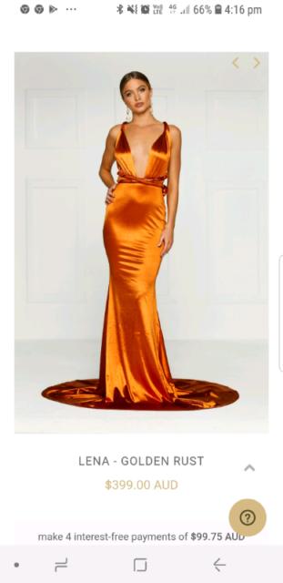 c5395c12b81 Alamour ball dress brand new Lena warp dress