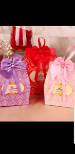 FAVOR CANDY BOXES for WEDDINGS/BABY SHOWERS and OTHER EVENTS!