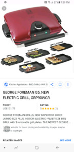 George Foreman Next Grilleration G5 grill
