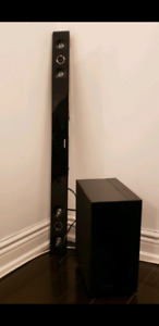 Lightly Used Samsung Soundbar and wireless Subwoofer for $75