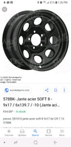 Looking for 17 inch offset rims