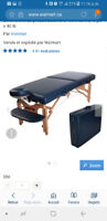 Table de massage neuve
