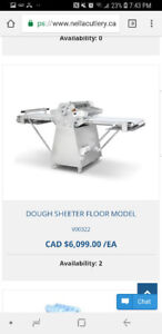 Dough Sheeter. Just months old! Great deal!!
