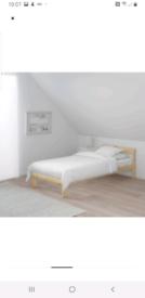 IKEA single bed frame plus slatted base immaculate