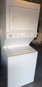 Kenmore stackable washer dryer -works