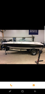 2008 four winns h183  fish and ski