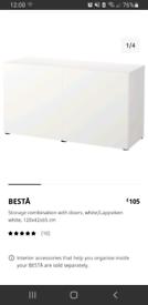 Ikea Besta Storage combination with doors