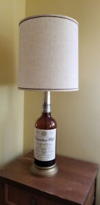 Vintage Whiskey Table Lamp