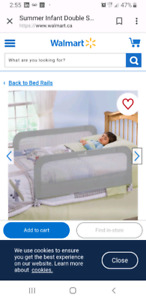 Safety bed rails for both sides of bed