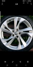 "Vauxhall Astra K 17"" SRI Alloys / Wheels"
