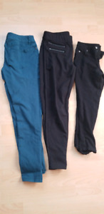 Ladies jeggings and dress pants