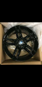 "BMW wheels 18"" demo set like new"