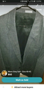 Men's Grey Suit