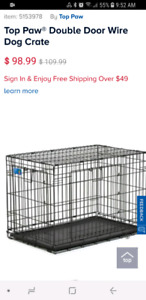 Dog Crate up to 70lbs - Excellent condition