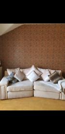 2 sofas & footstool
