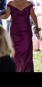 Mother of Bride/ Groom Dress with Stole
