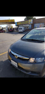 2009 HONDA CIVIC DX-G , AUTO, SAFETY DONE, +4 WINTER TIRES