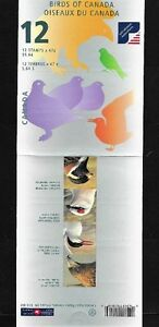 Stamps Canada BK218 - #1970-1977 - 1999 Birds Of Canada 47¢