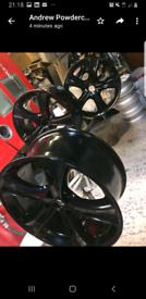 Vauxhall alloys refurbed