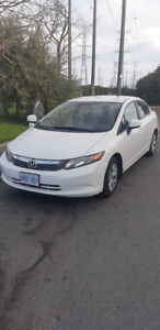 2012 Honda Civic LX 4DR, 98, 000 km,  Great Condition!