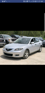 mazda3 2006 with low kms for sale